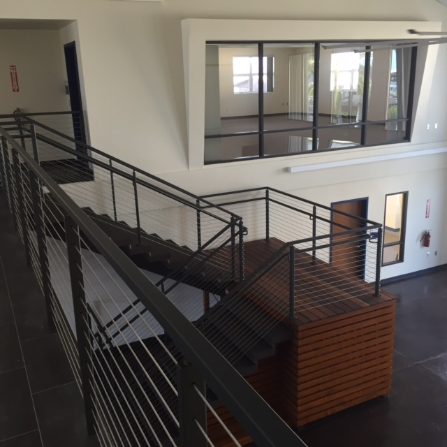 Atrium inside Hale `Iako