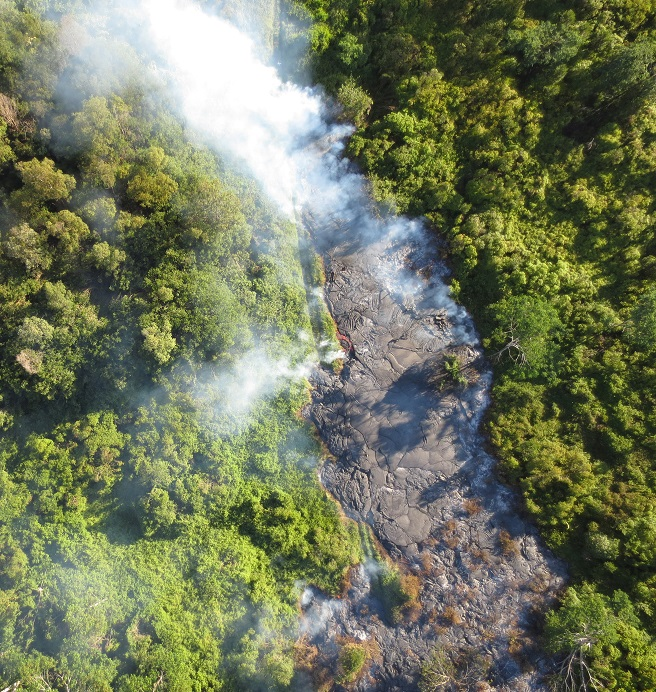 Lava Flow from UAV