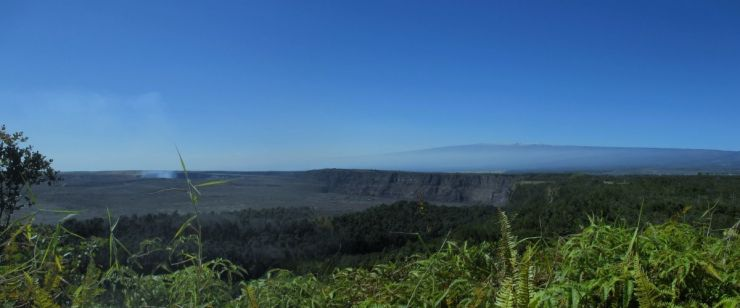 Mauna Loa from Whitney Seismic Vault